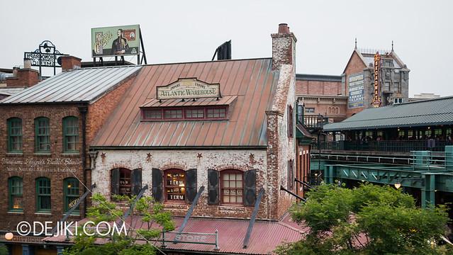 American Waterfront - Disneysea Electric Railway - Water Street view