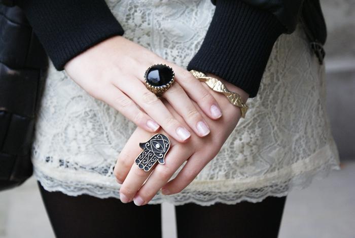 pierścionek z hamsą hamsa