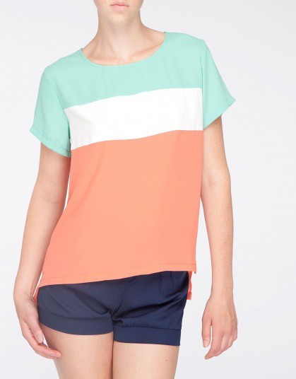 Against_Nudity_tops_chic-color-blocking-tee-2_Salmon