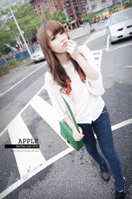 【穿搭】Boutique M正韓貨。穿出簡約個性韓風七套分享 @ 蘋果Apple