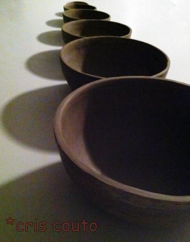 Fazendo...tigelas by cris couto 73