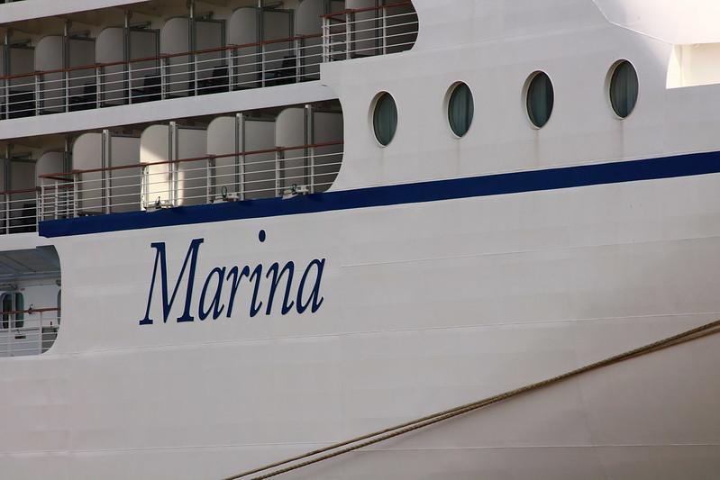 Paquebot M/S MARINA - Le Verdon-sur-Mer - Bordeaux - 02 octobre 2013