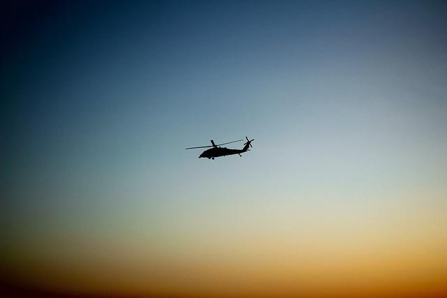 Harci helikopter, csak úgy szálldosott. Washingtonban vagyunk