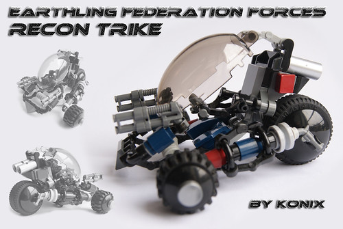 Recon Trike- Earthling Federation recce buggy