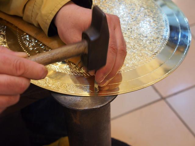 銅雕的雕刻過程