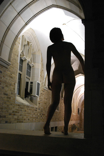 Naked under the arches