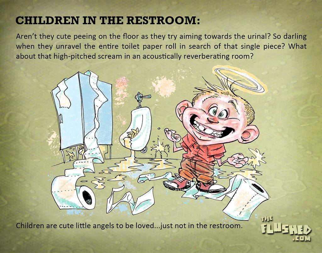 84 Children in Restrooms