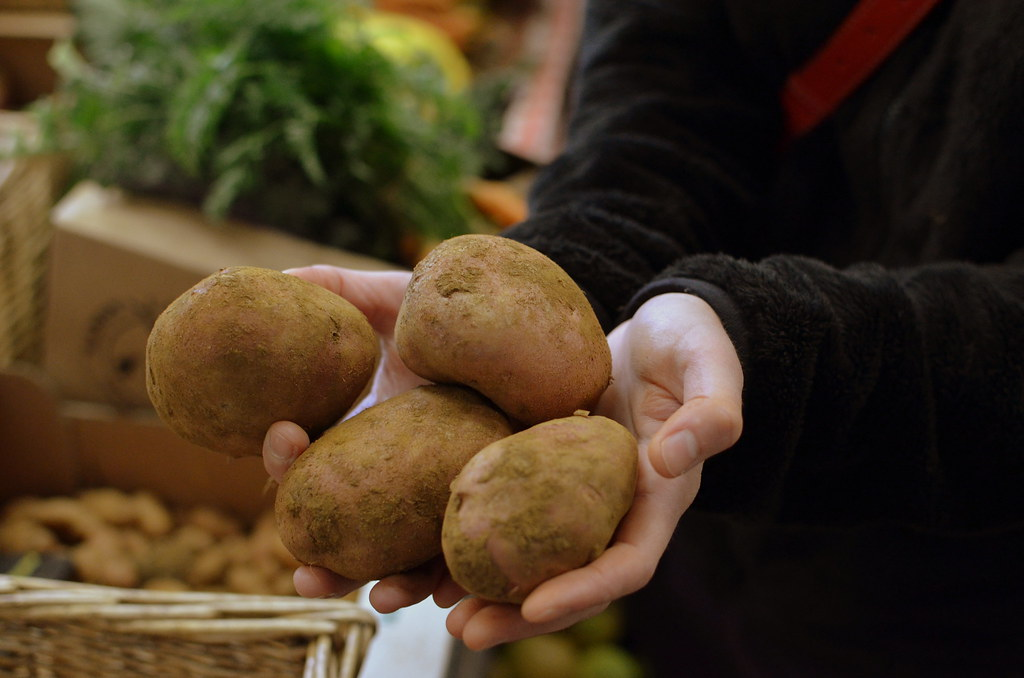 Potatoes from Sandy Lane Farm