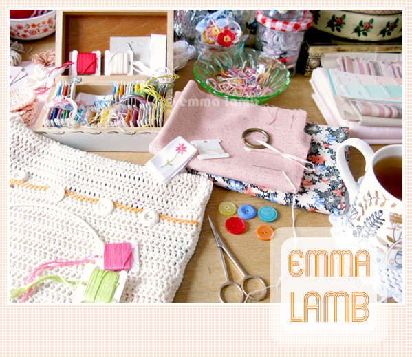 All sorts of fun happening on my desk this week | Emma Lamb