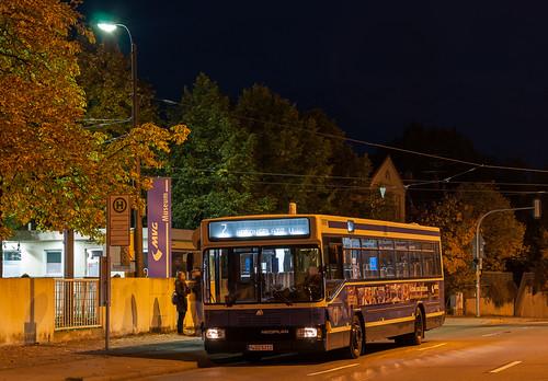Wagen 4712 wartet am MVG-Museum auf Fahrgäste