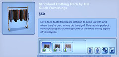 Strickland Clothing Rack by Hill Gulch Furninshings