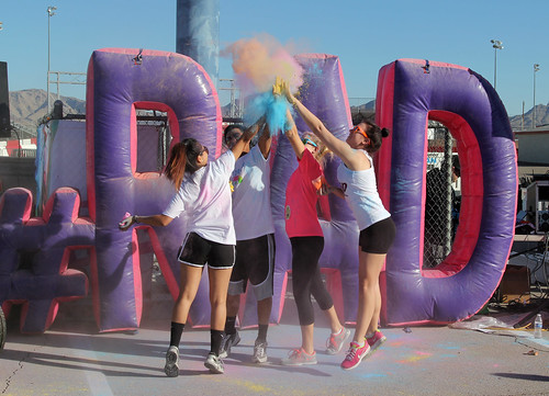 High Five! - Color Me Rad 5K - Las Vegas, NV