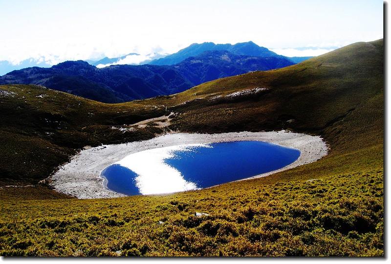 嘉明湖(Elev. 3310m) 1