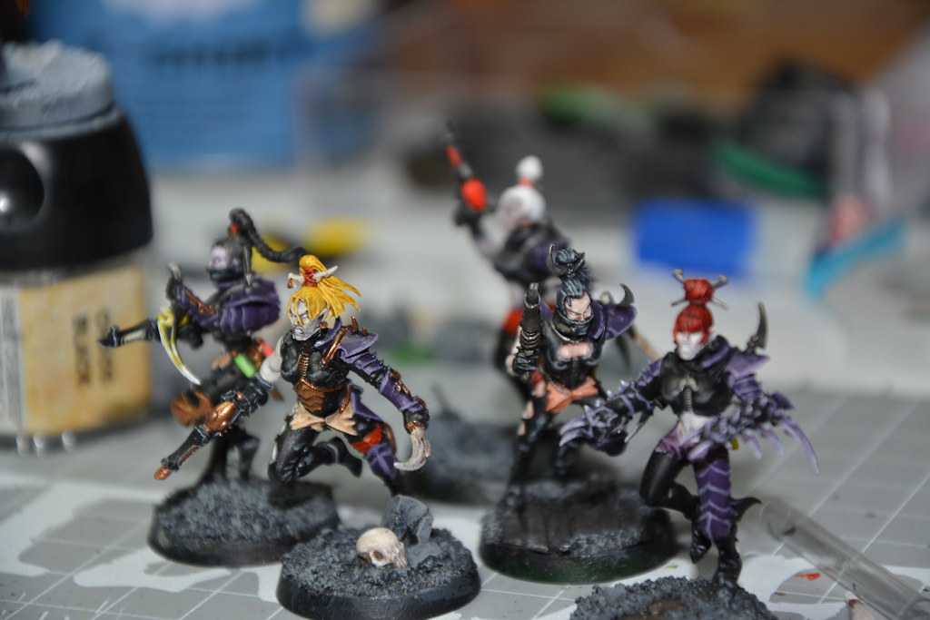 Cult of Bladed Violet & Kabal of Violet Storm - DE witches conversion! 10593640976_6a838fa1b9_b