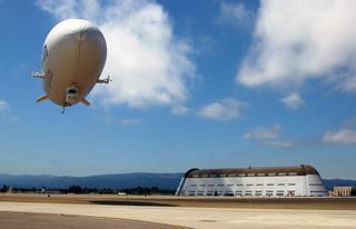 Airship Ventures, July 2009
