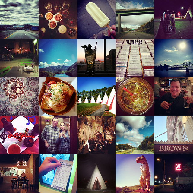 collage - instagram road trip