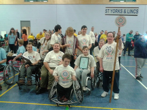 32nd Rotary English Disabled Sports Team Championship Coventry