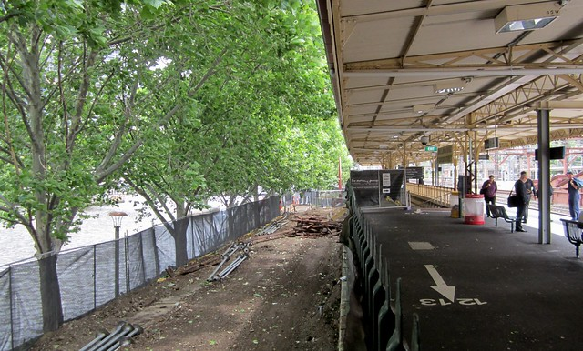 Remains of platform 11 at Flinders Street