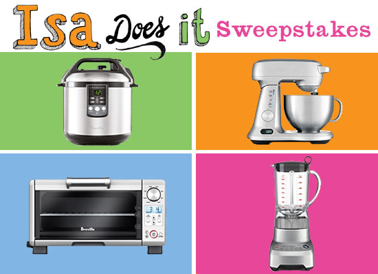 Isa Does it Sweepstakes
