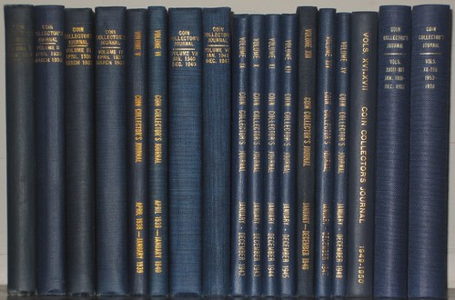 Coin Collectors Journal 2nd series Ford set Lot 129