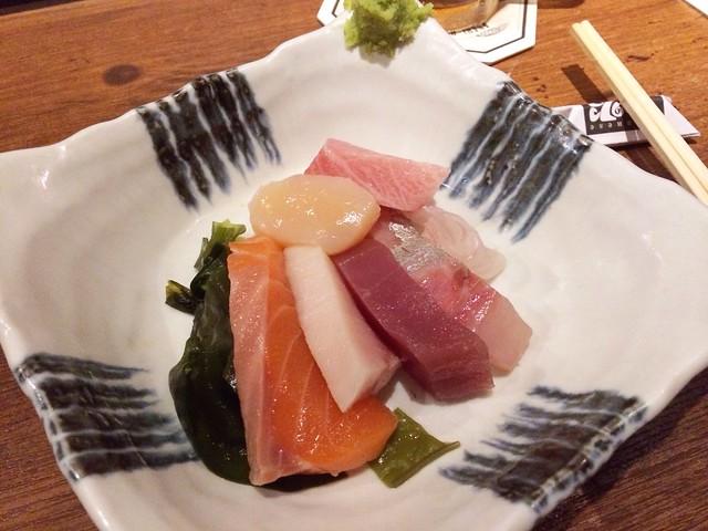 Sashimi, Omakase @ Teppei