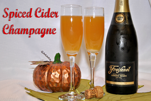 Spiced Cider Champagne