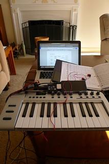 Portable MIDI Studio