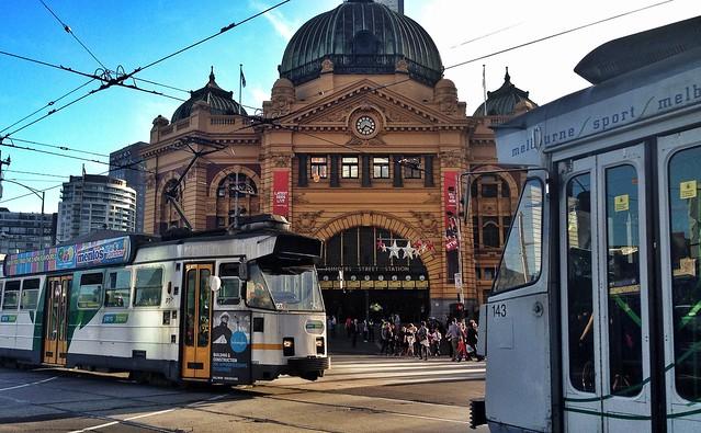 It's Melbourne!