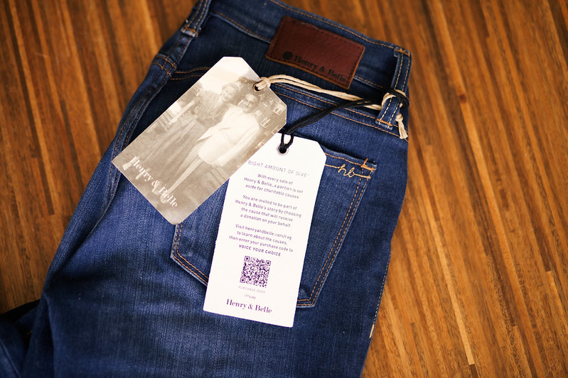 cute & little blog | henry & belle super skinny ankle jeans review