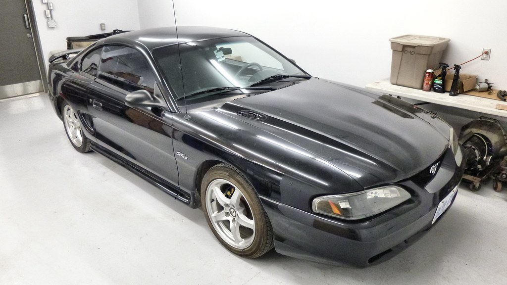 Mustang 1995 Saleen 1995 Ford Mustang Saleen S281