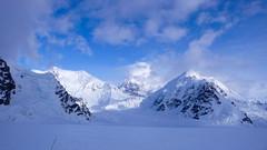 Zjazd ze Ski Hill, West Talhitna Peak