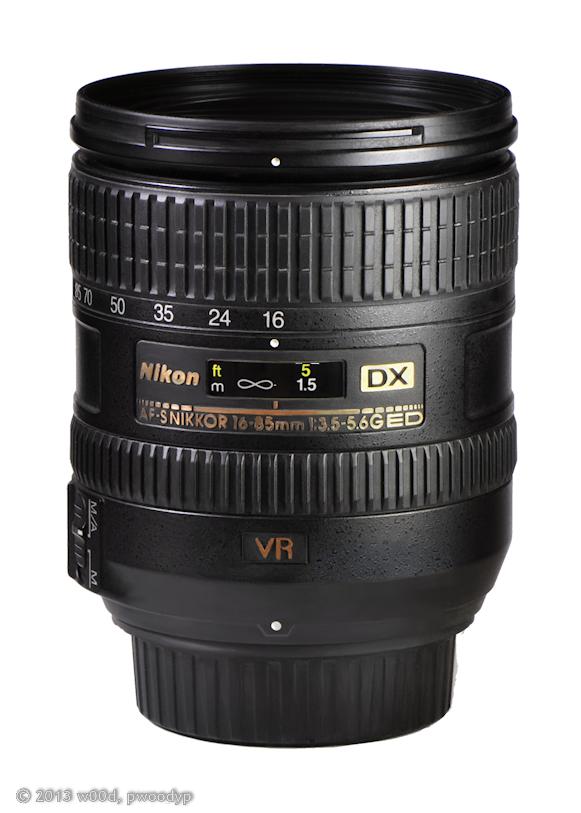 Nikon AF-S Nikkor 16-85mm 1:3.5 - 5.6G ED Zoom