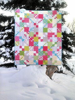 Penny Patch quilt - finished!!