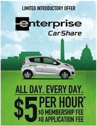 Enterprise CarShare with DC SOCIAL Sports Club