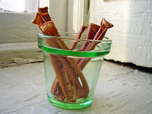 crispy apple sticks!