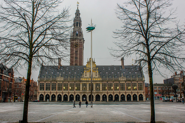 Biblioteca Central de la KU Leuven, Lovaina en Bélgica
