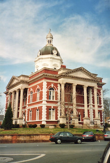 Meriwether County Court House---Greenville, Ga.---NRHP