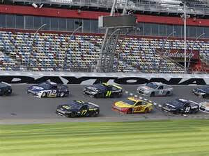 NASCARDaytonaTesting