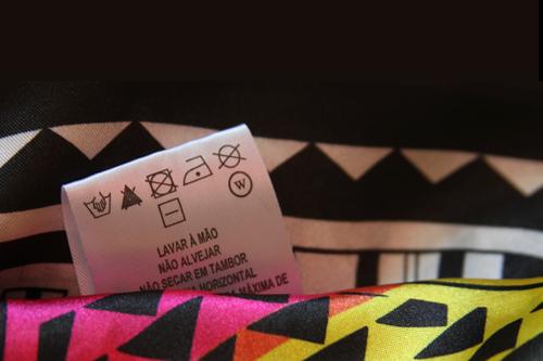 Decifrando as etiquetas das roupas