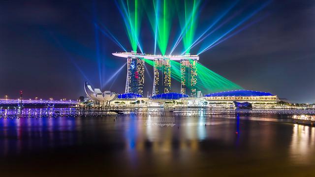 Marina Laser Show