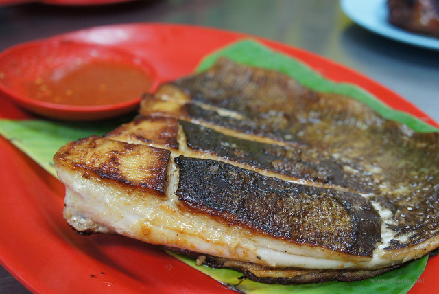WAW Jalan Alor - grilled stingray