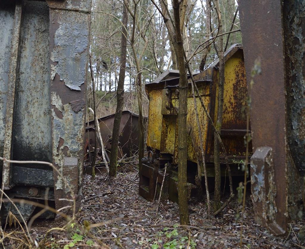 Was vom Bergbau übrig blieb: