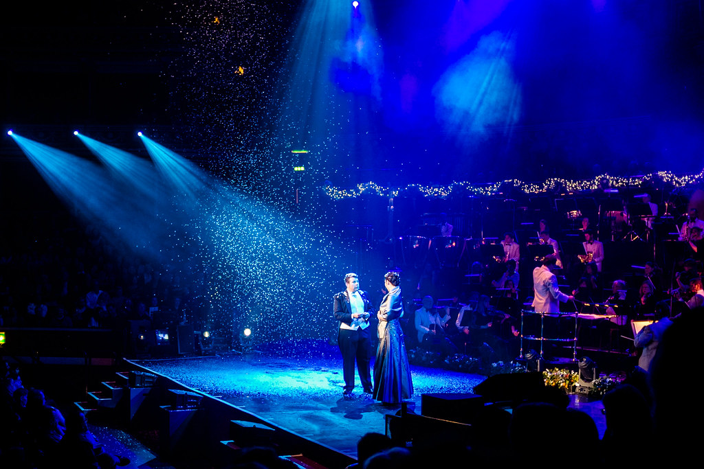 Christmas Spectacular @ Royal Albert Hall: Stephanie and Marco