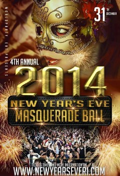 12/31 - Tues I'm ringing the New Year @ the Rhode Island Convention Center Masquerade Ball