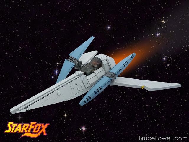 LEGO SFX Arwing