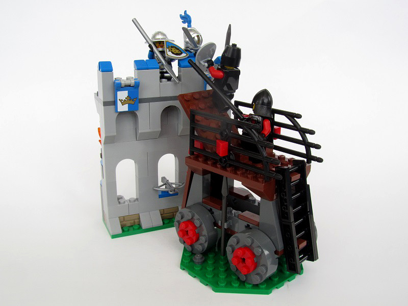 Siege tower attack lego historic themes eurobricks forums for Siege lego france
