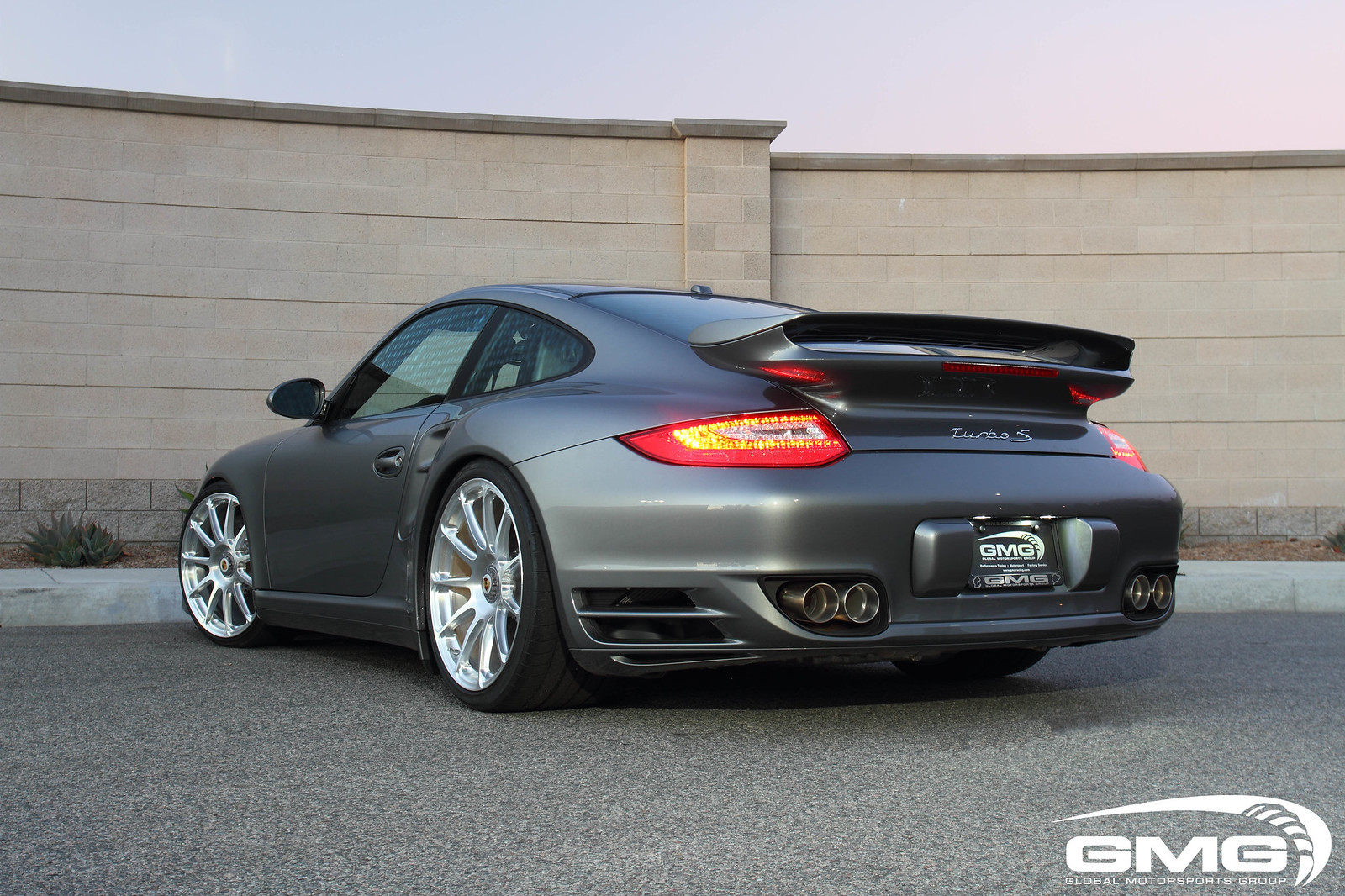 Gmg Racing Porsche 997 2 Turbo S W Gmg Exhaust