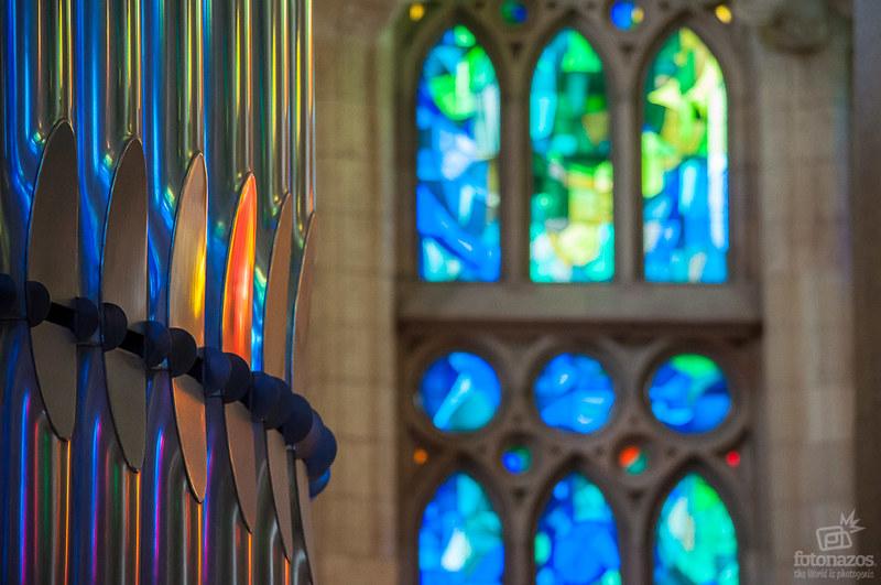 Fotos espectaculares del interior de la Sagrada Familia de Gaudí