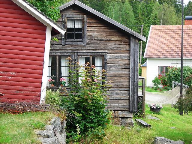 Ulvön 2010 old house