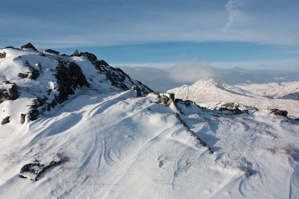 Summit of Beinn na h-Uamha